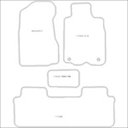 Honda CRV MK2 Manual Car Mats